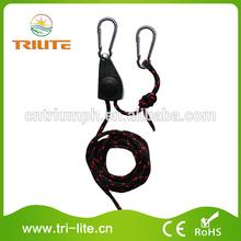 """1/4"""" Adjustable Light Hanger Rope Ratchet"""