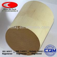101.6*123.4mm Automotive Honeycomb Ceramic Catalytic Converter