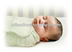 New Baby SwaddleMe Wrap Swaddle Blanket Large Sage Microfleece