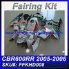 For HONDA 2005 2006 600RR CBR600 Fairings