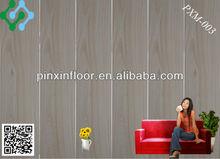 wood grain plastic vinyl floor indoor tiles made in china