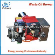 2014 waste of oil of burner