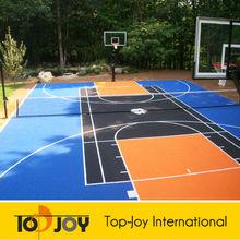 substantial anti-slip basketball court floor