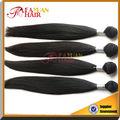 todas las texturas negro para las mujeres al por mayor remy virgen barato extensiones del pelo humano del pelo brasileño