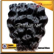 loose wave extension loose wave weave bundles Virgin Brazilian Ocean Hair extensions for black women