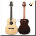 """40 """"China OEM Todo de madera sólida Guitarra Acústica (AFH409)"""
