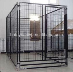 large animal metal cage fence