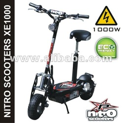 Electric scooter 1000W 36V, foldable, ECO/TURBO mode