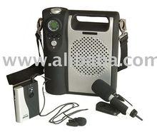 UHF 32 Channel Wireless Audio Amplifier - AU210