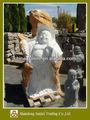 自然石の仏像