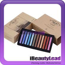 Temporal no- tóxico en colores pastel de pelo de moda de tiza tiza pastel 36 con colores