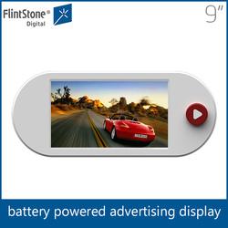Flintstone small lcd display, outdoor advertising lcd display, lcd tv advertising