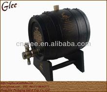 Oak Wood Barrel Beer Keg Wine Barrel With Metal Tap 3L 5L 12L