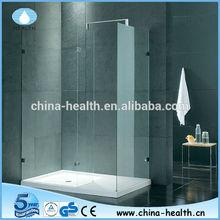 walk in shower enclosures,rectangle frameless shower room,no door shower cubicle