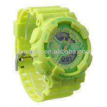 Colorful Summer Favorite Girls Sport Watches Jjelly LED Smart Watch Men Quartz LED Show Guangzhou Manufacturer