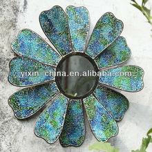 2013 Beautiful Skyblue Wrought Iron Mosaic Decorative Mirror