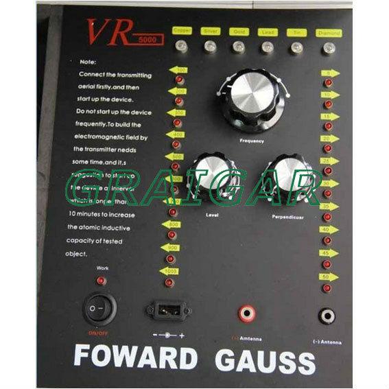VR5000 FORWARD GAUSS Diamond Detector