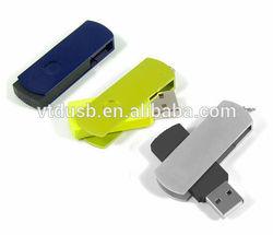 Black metal USB twister USB with your logo printed Twister USB Flash Drive Swivel USB,Customized mental usbs pens