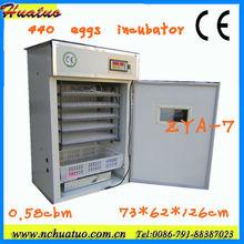 Melhor preço 2013 novos ce aprovado 440 ovos completo- automático de óleo de avestruz zya-7 270-350usd dentro