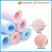 Waterproof 100% Bamboo Fiber Baby Diaper Changing Mat,baby bed cover,urinal pad factory