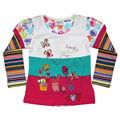 modelos de blusas de manga comprida design para blusas formal das meninas de modelagem