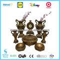 2014 delicado 8 clássica pedestal cone flor vaso decoração home conjunto