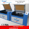 HOT SALES MINI Desktop type Acrylic Laser Cutting Machine with Moterized worktable and Red dot Pointer (TRIUMPH-640)