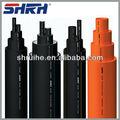 De polietileno de alta densidad de la tubería de espesor En2.3 - 59.3 mm