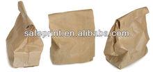 Hot sale Various Disposable Ecofriendly paper food packaging bag