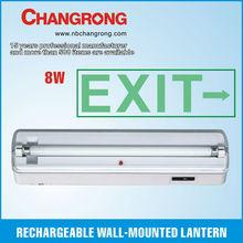 6V 8W emergency exit light