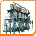 Alta gluten de trigo harina de máquinas con precio