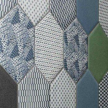 Zen style wall tile Japanese design INISHIE