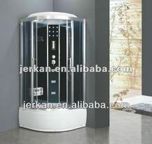 luxury corner steam shower room