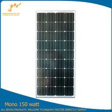 Chinese 150w mono panel solar solar cell solar module