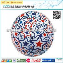 ligth up pvc ball inflatable glow beach ball