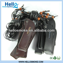 Ego lanyard, leather, cloth, with good quality