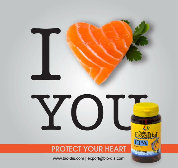 EPA Salmon Oil 1000 mg 30 softgels - Food supplement