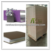 Folding resistance 1450gsm grey paper board for stationery