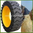 good price 14-17.5 bobcat skidsteer loader solid tire (manufacturer)