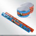 de goma palmada bandas promocionales personalizados pulsera de complemento