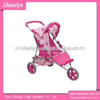 Stroller factory wholesale JH2595-12 cheap baby hauck doll stroller brands toys
