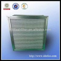 High Quality Deep pleated HEPA air box filter H12