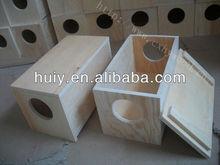 plywood wooden squirrel/ hamster /hedgehog / rat house
