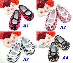 Zebra baby shoes instock