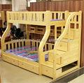 Niños juego de dormitorio muebles de madera maciza cama litera de la madre niños litera cama muebles
