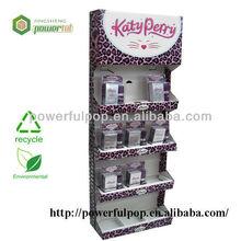 retail Katy perry display perfume shelf paper display