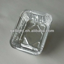Airline disposable aluminum foil food tray