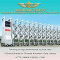 Açoinoxidável automático portão dobrável para garagem- j1365