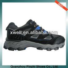 Classic high quality duarable small quantity cheap factory mens hiking shoe