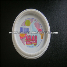 Plastic Frozen Yogurt / Ice Cream Cup With Lid , beer pong cup
